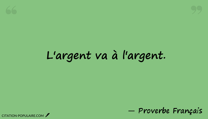 citation et proverbe